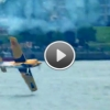 VIDEO: Matt Hall's Amazing Split Second Recovery After He G-Stalls his MXS-R Aircraft And Skims It Over The Water