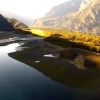 VIDEO: Beautiful Scenic And Challenging Approach Into Milford Sound Airport in New Zealand