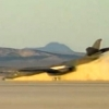 "VIDEO: A B-1B ""Lancer"" Executed an Emergency Landing on Rogers Dry Lake Edwards AFB after Nose Landing Gear Failure"