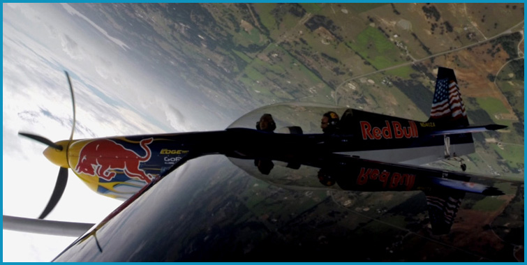 VIDEO: My Epic Aerobatic Flight with Kirby Chambliss in His Red Bull Edge 540T Stunt Plane