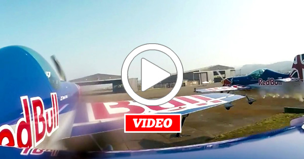 VIDEO: Barnstorming – How a 185mph Formation Flight Through A Hangar Goes Down
