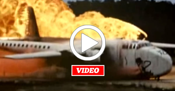 VIDEO: These 1950s Absurd Full Airplane Crash Tests Are Unbelievable