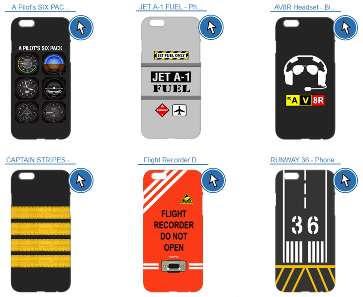 2) If you don't have an aviation phone case yet, here's your chance. See something you like? Get your aviation phone case, by clicking here.