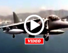 VIDEO: This is Really How Harriers Land on Aircraft Carriers… NOT Fake News!