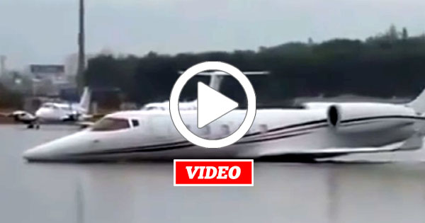 VIDEO: How This Private Jet Gets Used as a Luxury Yacht For the Day!