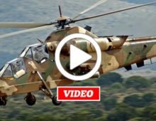 VIDEO: South African Rooivalk Pilots Flying Under The Radar